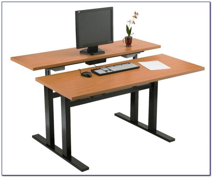 Dual Station Computer Desk Desk Home Design Ideas