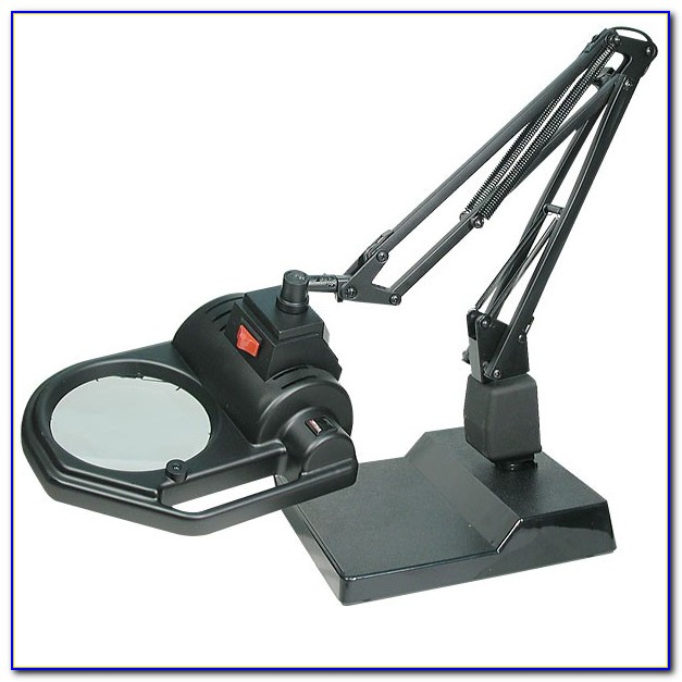 Led Desk Lamp With Magnifier