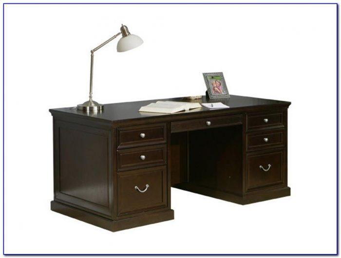 Leonardo Double Pedestal Executive Desk