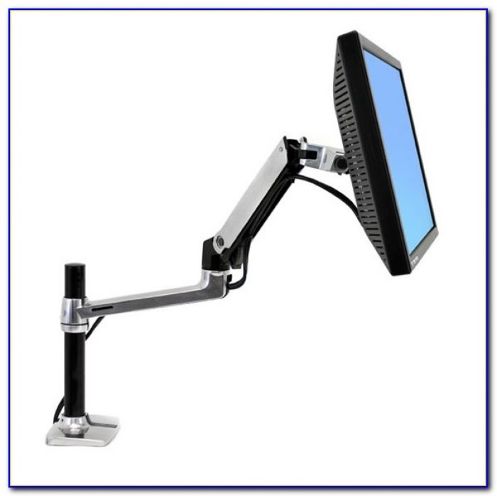 Lx Desk Mount Lcd Arm Tall Pole Canada Desk Home