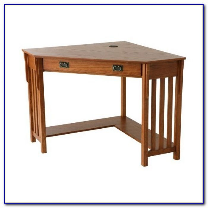 Wood mission oak corner computer desk desk home design ideas abpwba6qvx82435 - Mission style computer desk with hutch ...