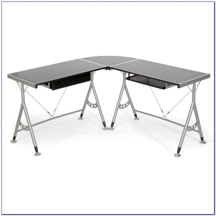Modern Black L Shaped Desk