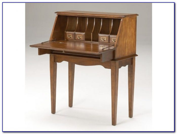 Modern Drop Down Secretary Desk