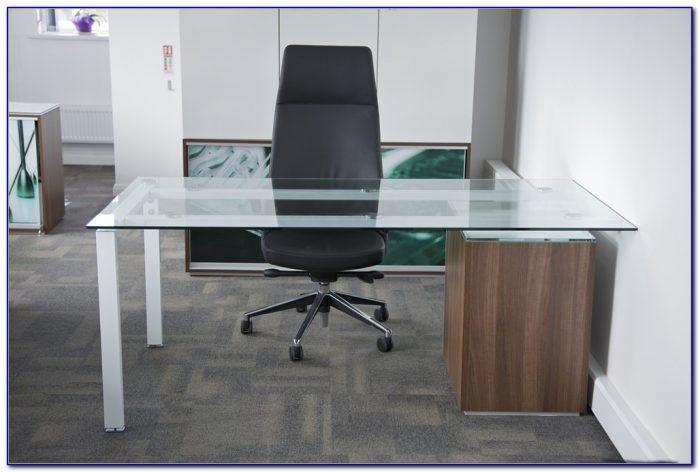 Modern Executive Glass Desk For Office Furniture - Desk ...