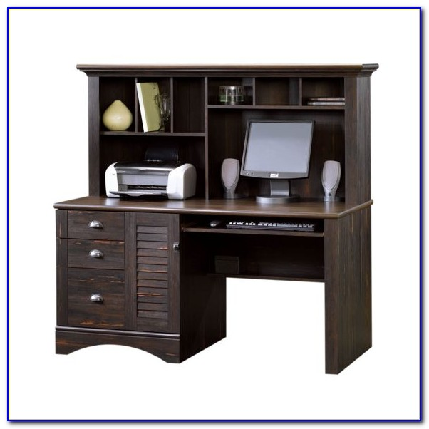 Office Desk With A Hutch