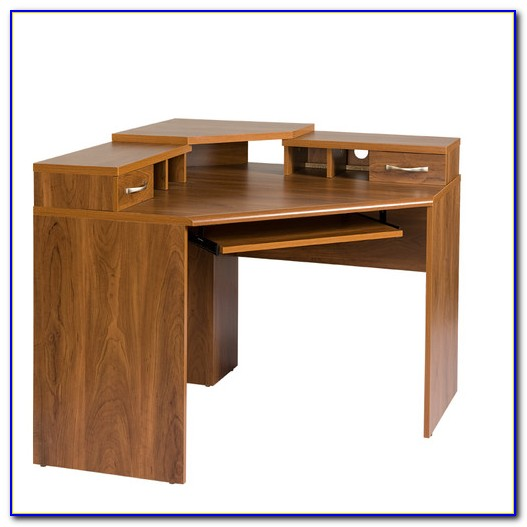 Os Home And Office Furniture Corner Desk With Monitor Platform