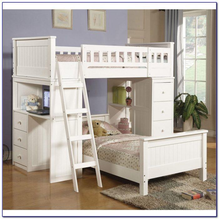 Queen Size Loft Bed Desk