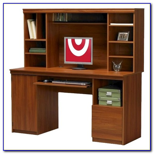 Sauder Cherry Computer Desk With Hutch Download Page