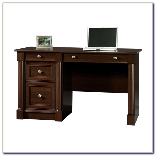Sauder Palladia Select Cherry Computer Desk Desk Home