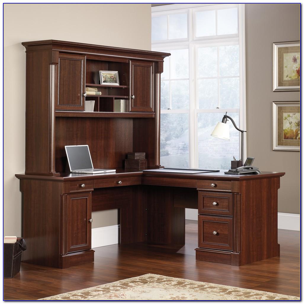 Sauder Palladia L Shaped Desk Vintage Oak Desk Home