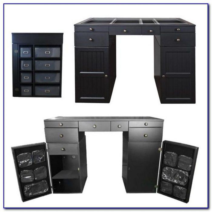 Craft Desk With Storage Ikea Desk Home Design Ideas