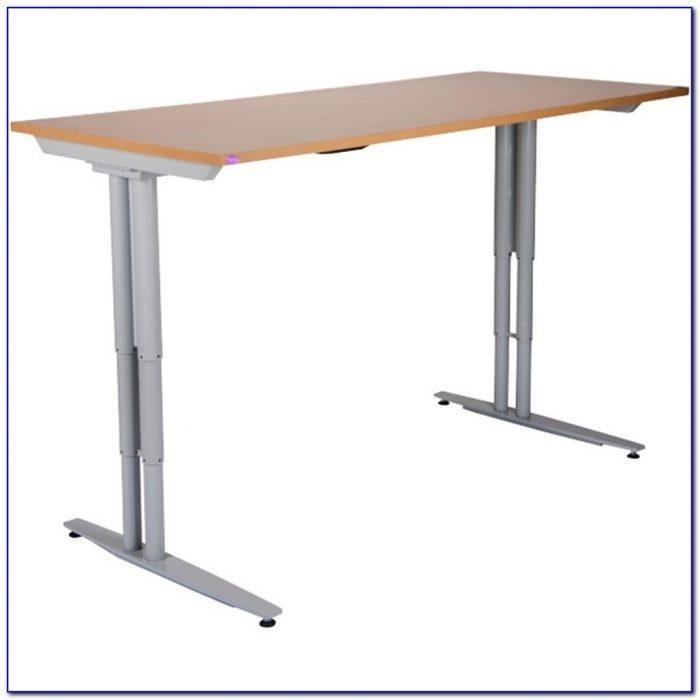 Electric Adjustable Height Desk Frame Desk Home Design