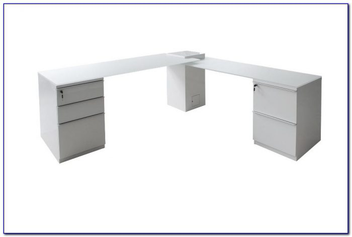 Small L Shaped Desk White
