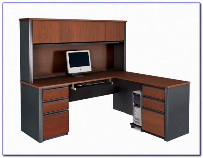 Small L Shaped Desk With Hutch