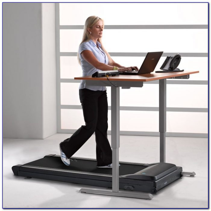 Small Manual Treadmill Under Desk