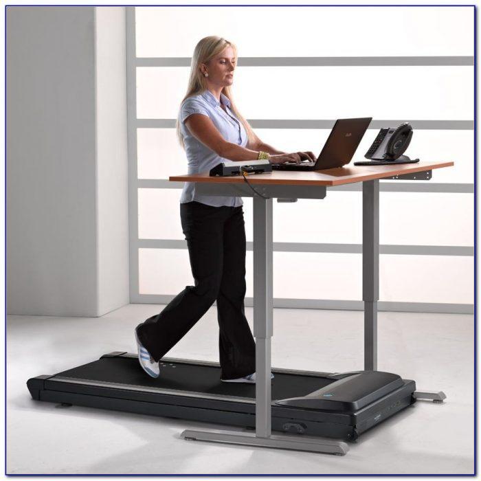 Small Treadmill For Desk Desk Home Design Ideas