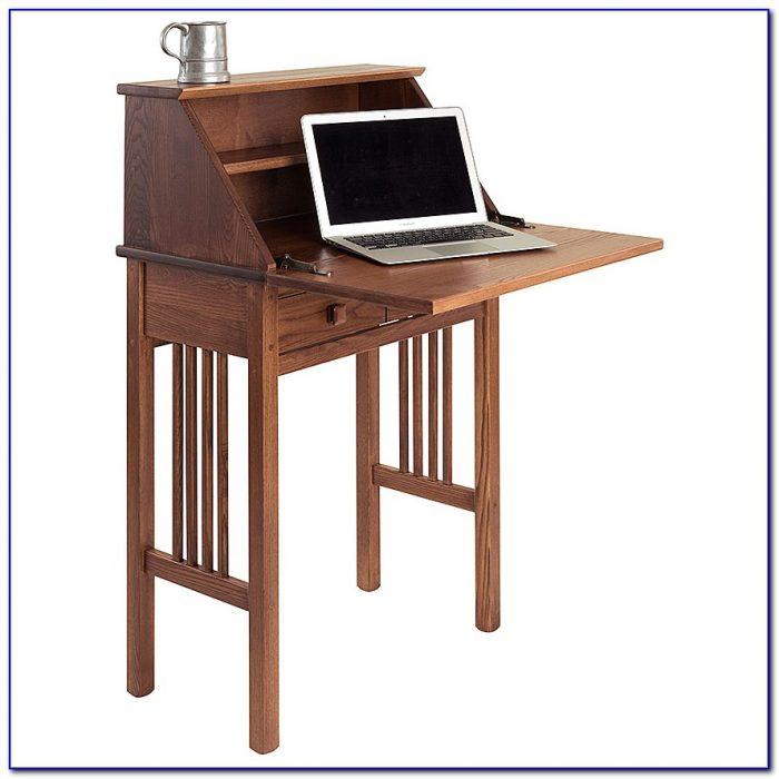 Solid Wood Shaker Secretary Desk