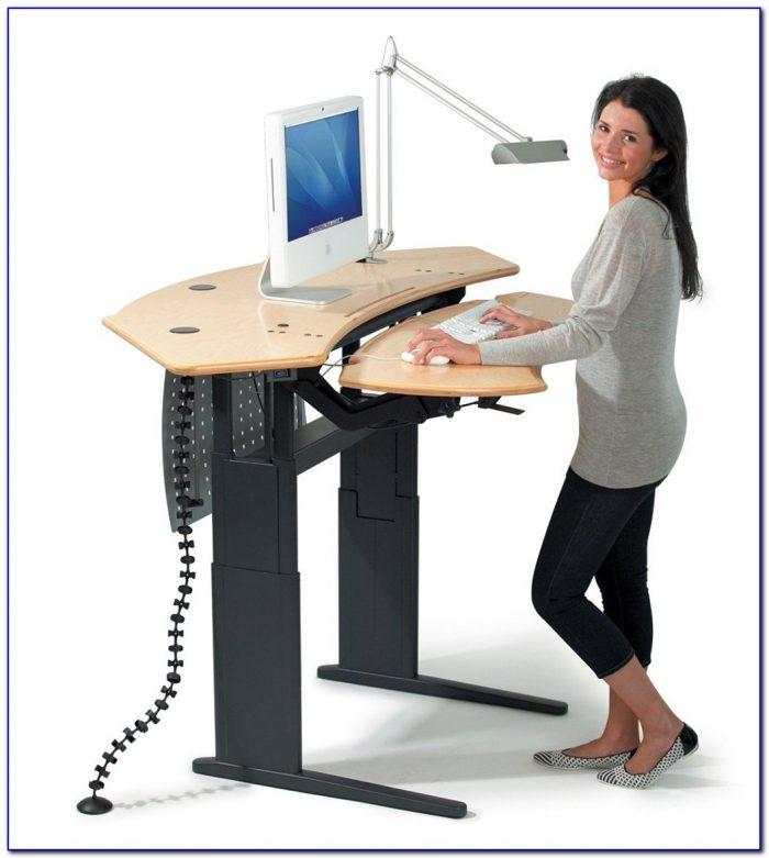Desks For Working Standing Up Desk Home Design Ideas