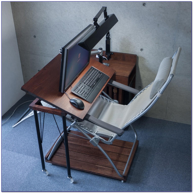 Swivel Laptop Table For Recliner Desk Home Design