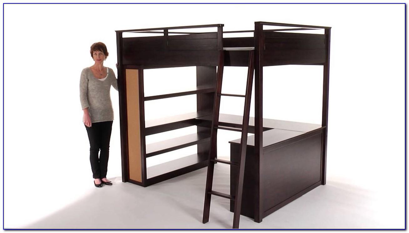 Teenage Loft Bed With Desk Desk