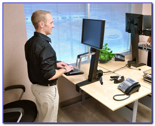 Turn Your Desk Into A Standing Desk