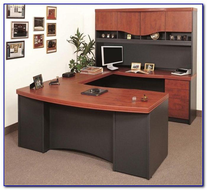 U Shaped Office Desk Used