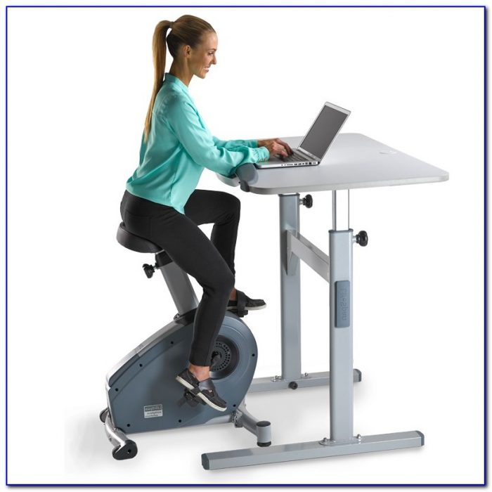 Exercise Bike Under Desk Desk Home Design Ideas