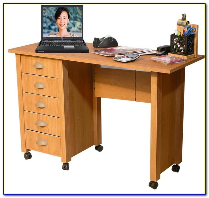 Rustic Computer Desk With Storage