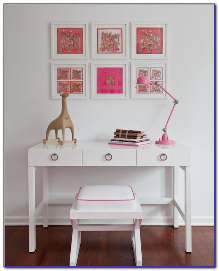 White Desk For Girls Bedroom