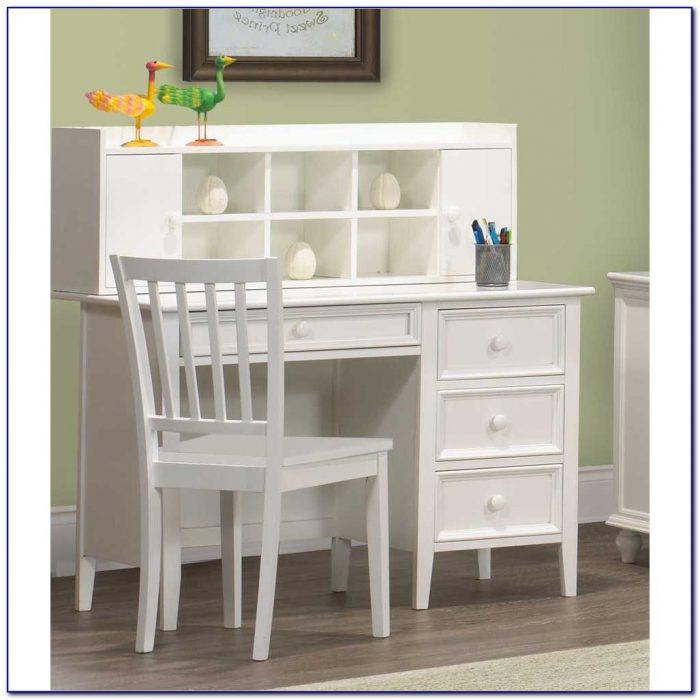 Girls White Desk And Hutch Desk Home Design Ideas
