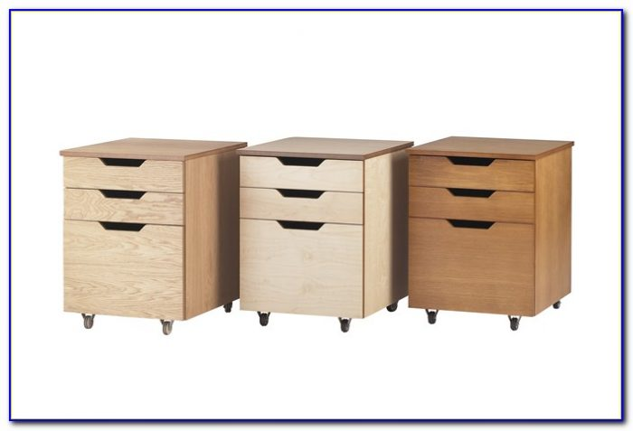 3 Drawer Under Desk Cabinet Desk Home Design Ideas