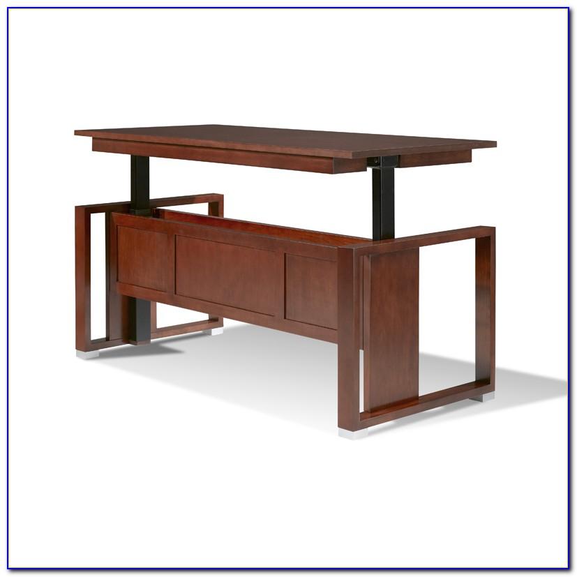 Adjule Desks For Standing Or Sitting Uk Desk Home