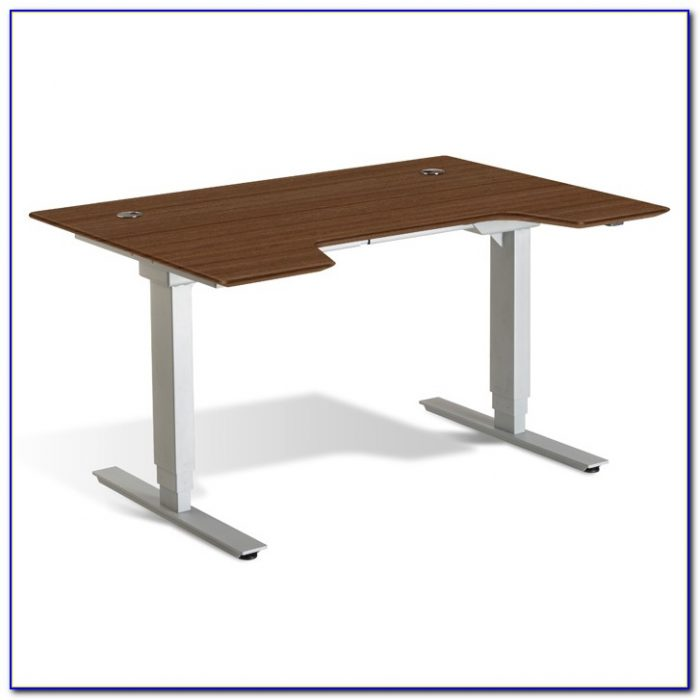 Adjustable Height Table Base
