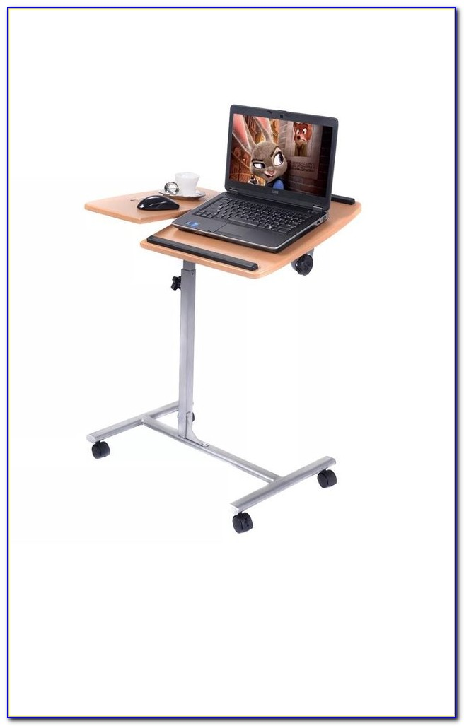 Adjustable Swivel Laptop Table