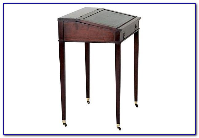 Antique Slant Top Writing Desk