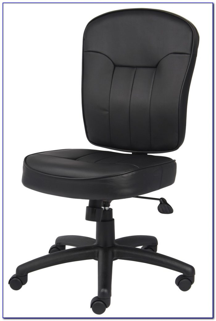 Armless Leather Office Chairs Uk