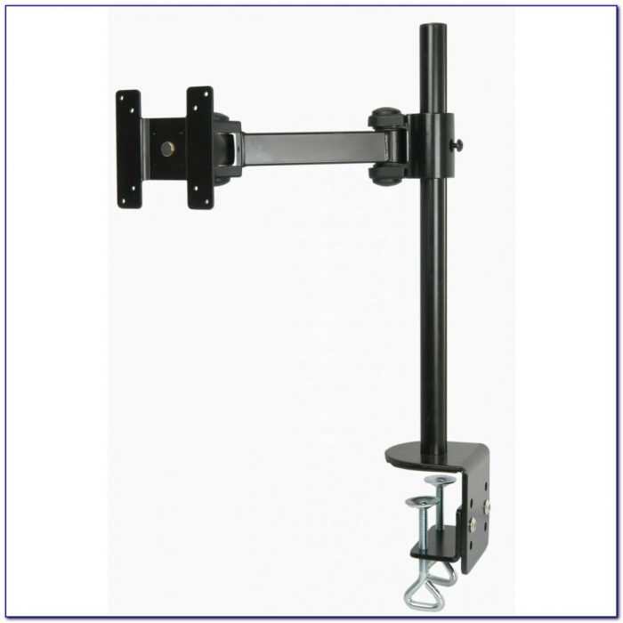 Articulating Dual Arm Computer Monitor Desk Mount