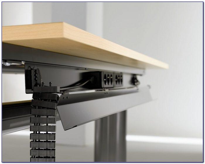 Drill Hole In Desk For Cables Desk Home Design Ideas