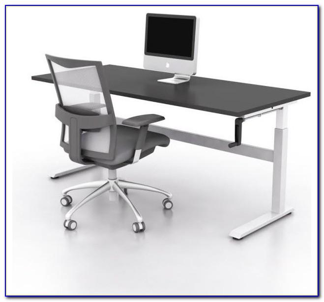 Bond Manual Height Adjustable Desk