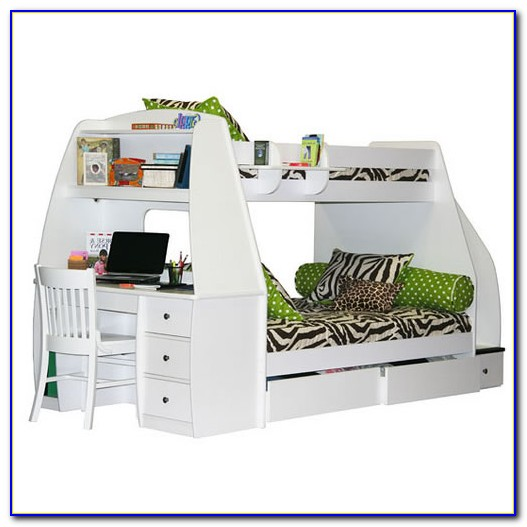 Bunk Beds With A Desk Underneath