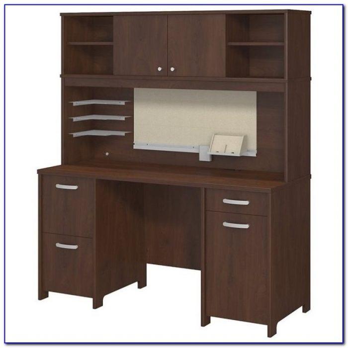 Bush Fairview Desk With Hutch Desk Home Design Ideas