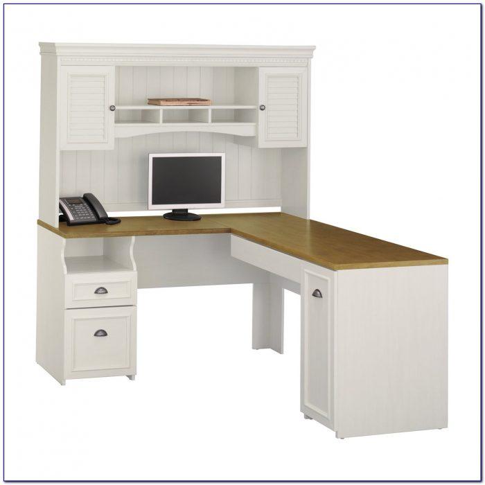 Bush Furniture Buena Vista Computer Desk Madison Cherry