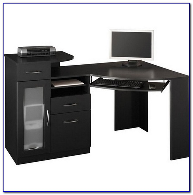 Bush Furniture Bush Signature Vantage Collection Corner Desk Black