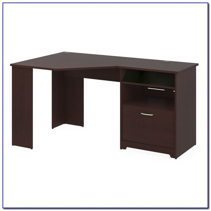 Bush Furniture Cabot L Shaped Computer Desk With Hutch