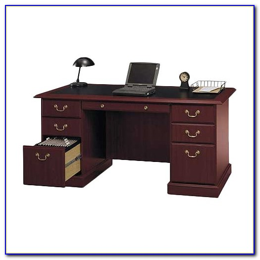 Bush Furniture Saratoga Executive Desk