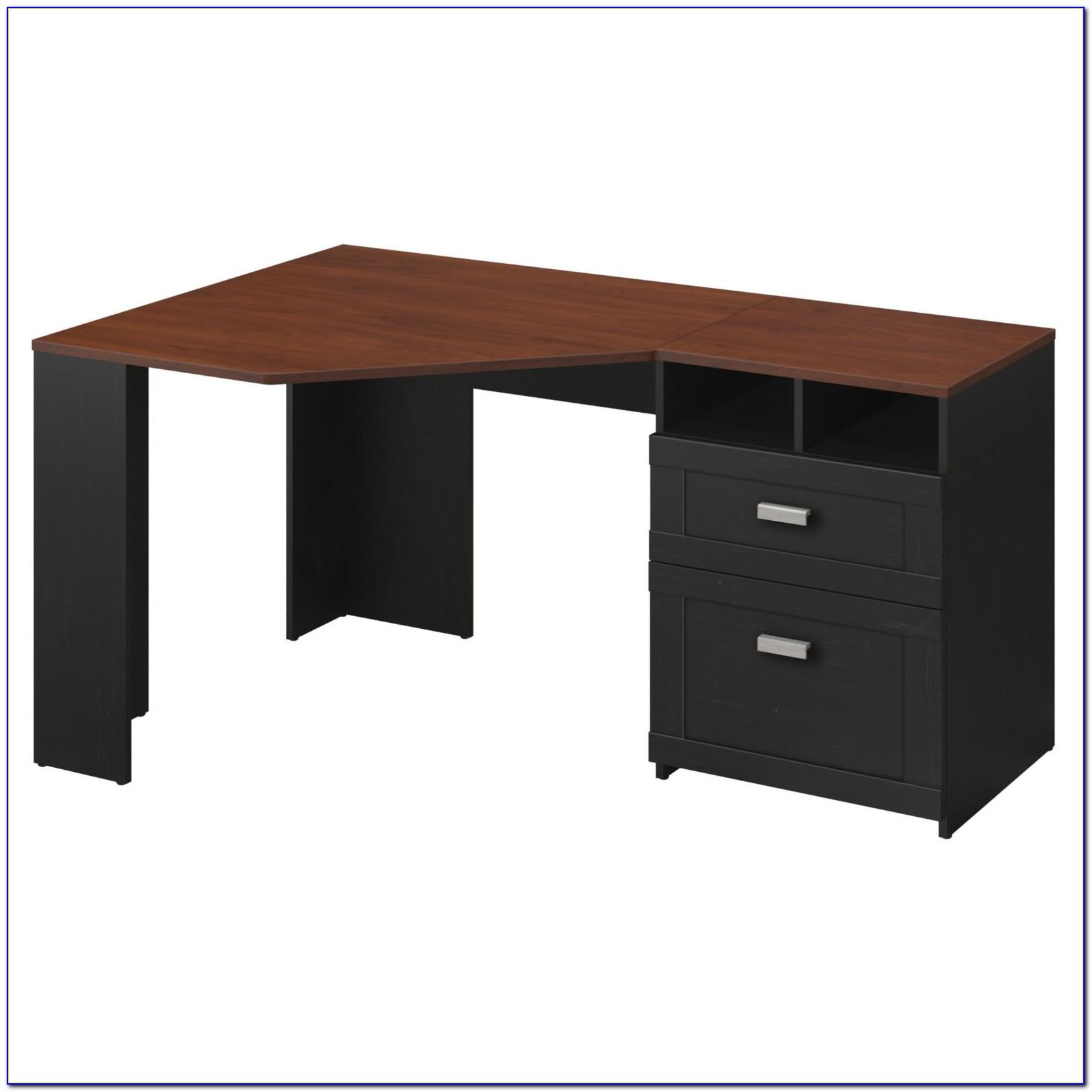 Bush Furniture Montrese Computer Desk Desk Home Design