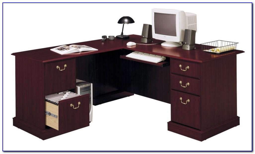 Bush Industries Saratoga Executive Desk Desk Home