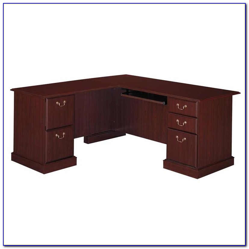 Bush Saratoga Executive Computer Desk