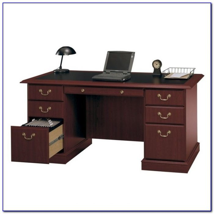 Bush Business Furniture Saratoga Executive Desk Desk