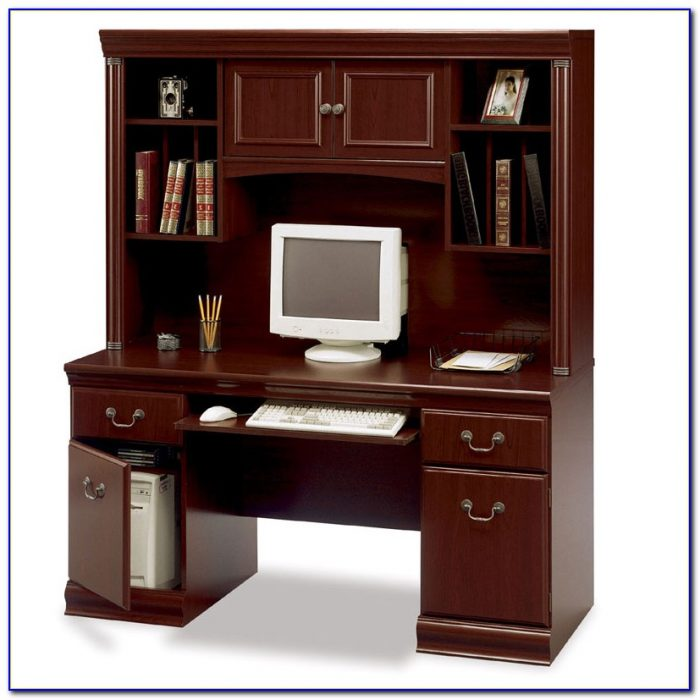 Bush Saratoga Executive Computer Desk Desk Home Design